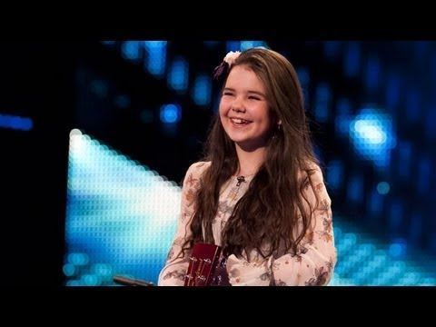 Britain's - Watch 12-year-old Lauren Thalia's acoustic rendition of Keri Hilson hit Turn My Swag On. Performing like a seasoned pro, the little firecracker nails her aud...