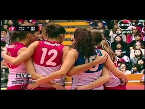 Peru x Slovakia 2set FIVB Women's Junior 2011