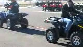 9. Yamaha Grizzly 700 vs Can Am Outlander 500 xt