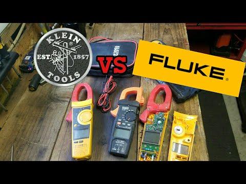 Fluke 336 Vs. Kline CL600: New Multimeter