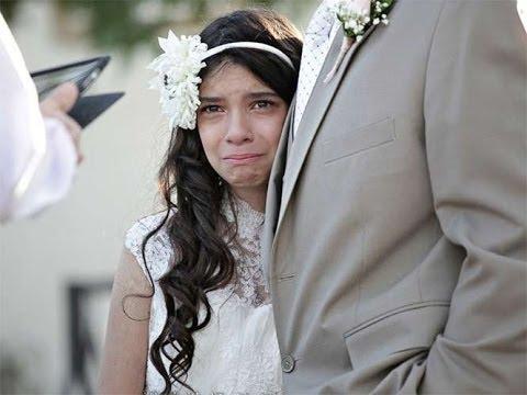 Niña se casa con 11 años en la boda mas emocionante del mundo  Lloraras de emocion