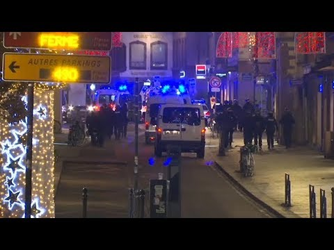 At least two dead and several injured in Strasbourg shooting