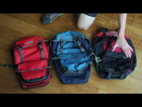 Comparing 3 Different Ortlieb Bicycle Panniers & Handlebar Bags
