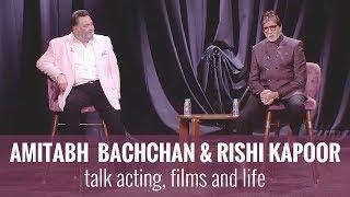 Video Amitabh Bachchan & Rishi Kapoor | In Conversation MP3, 3GP, MP4, WEBM, AVI, FLV Mei 2018