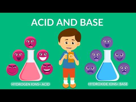 Acid and Base | Acids, Bases & pH | Video for Kids