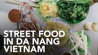 Da Nang Vietnam  city photos gallery : Eating Vietnamese street food in Da Nang