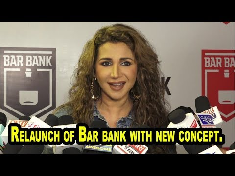 Ritu Shivpuri At Relaunch of Bar bank with new concept