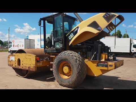 CATERPILLAR VIBRATORY SINGLE DRUM SMOOTH CS-583E equipment video V5RHKz-NCTk