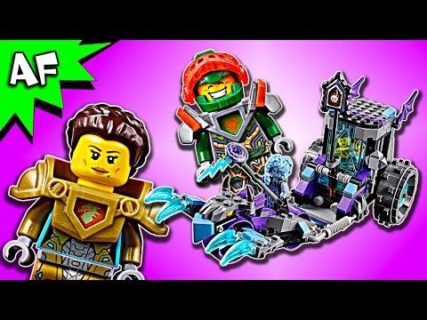 Vidéo LEGO Nexo Knights 70349 : Le char de combat de Ruina