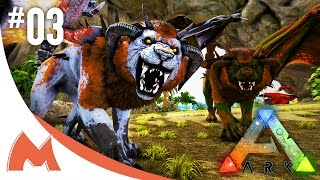 Modded ARK: Dino Overhaul X! Crystal Isles - FIRE MANTICORE Y & ICE MANTICORE Z EVOLUTION! (E03) w/ mago & TagBackTV! Today we are hatching another Manticor...