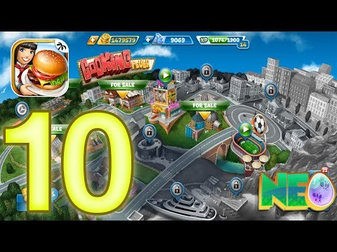 Cooking Fever: Gameplay Walkthrough Part 10 - Sports Bar Level 6-10 (iOS, Android)