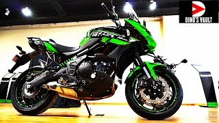 9. 2018 Kawasaki Versys 650 Unboxing, Delivery, Owner Reaction #DinosVlogs