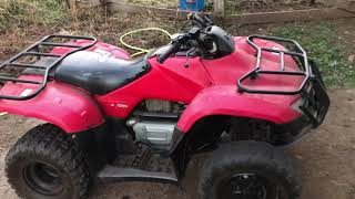 10. Bought Used Honda Recon Trx250tm 2005