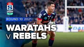Waratahs v Rebels Rd.10 2021 Super rugby AU video highlights