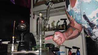LATE NIGHT SPECIAL!!!!! (TRIPLE RATCHET BUBBLER) by Custom Grow 420