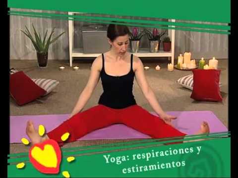 Posturas del yoga en suelo