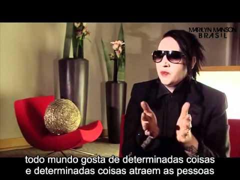 Marilyn Manson fala sobre seus quadros (2010)