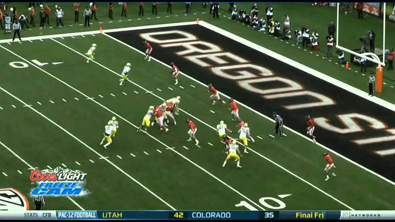 Kenjon Barner vs Oregon State (2012)