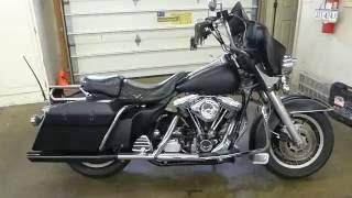 7. 1991 Harley Davidson FLHTP police bike