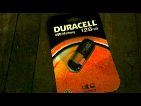 Duracell 128gb USB stick