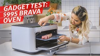 Taking the $995 Brava Countertop Smart Oven For a Spin — The Kitchen Gadget Test Show by Eater