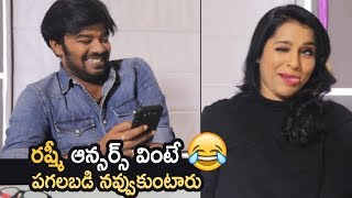 Video Sudigali Sudheer Super Funny Questions To Rashmi | Rashmi Superb Answers To Sudheer | Hilarious MP3, 3GP, MP4, WEBM, AVI, FLV April 2018