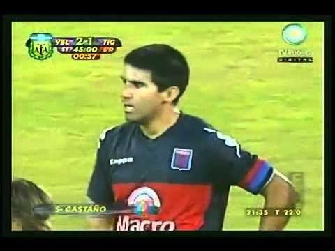 Gol de Diego Castaño a Velez