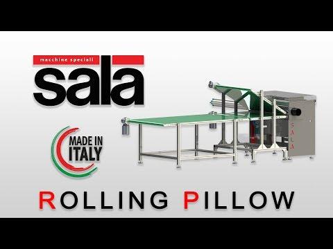 Rolling Pillow Machine - Arrotolatrice per cuscini