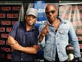 Part 1: Dave Chappelle: Talks Netflix Money, Trump, Key Andle, Bombing On Stage
