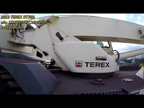 TEREX CORPORATION CRANES RT780 equipment video V5kAdaCpYX0