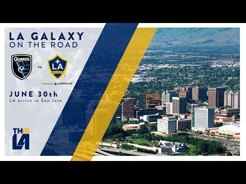 Video: LA Galaxy travel to San Jose | On the Road