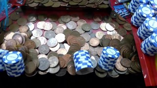 Weston Super Mare United Kingdom  City pictures : UK coin penny pusher HAPPY DAYS - weston super mare arcade olympia 2016 - 1