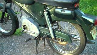 9. 1966 Puch Sabre 49cc Motorcycle Better than a Honda Dream or Vespa!