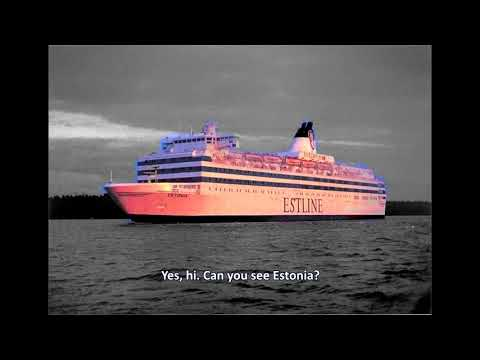 M/S Estonia Mayday Call With Subtitles, Tribute