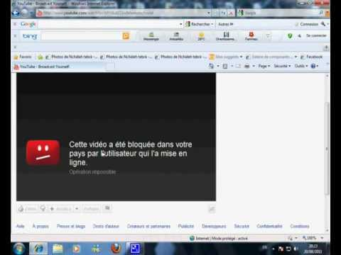 comment ouvrir proxy