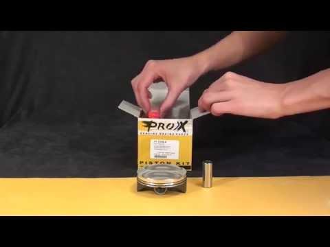 Unboxing Pistões Pro-X