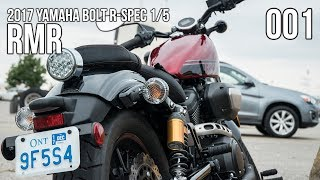 7. A Quick Look at this Red Beauty | 2017 Yamaha Bolt R-Spec Review | RMR 001