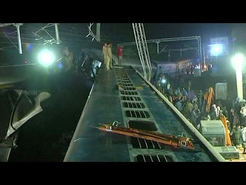 Ινδία: Πάνω από 20 νεκροί σε εκτροχιασμό ταχείας αμαξοστοιχίας