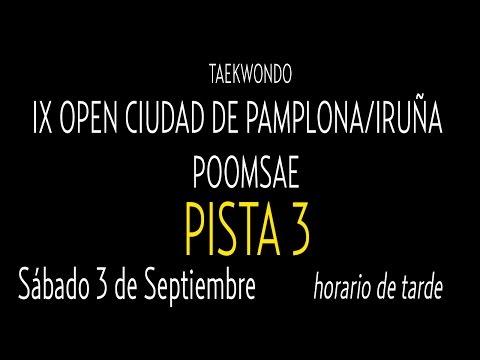 Open Internacional Pamplona. Sabado Pista 3