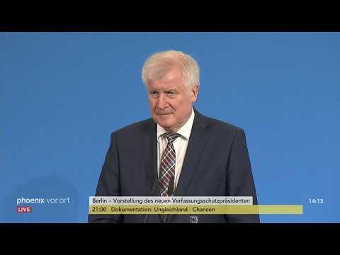Vorstellung des neuen Verfassungsschutzpräsidenten Th ...