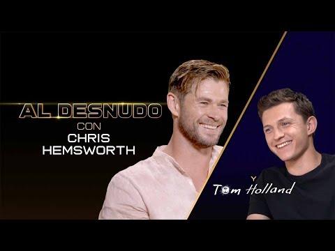 Men In Black International - CHRIS HEMSWORTH y TOM HOLLAND-Una divertida entrevista entre Superhéroes.?>