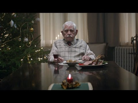 German Grocery Store EDEKA Christmas Commercial About Lonely Grandpa Will Melt Your