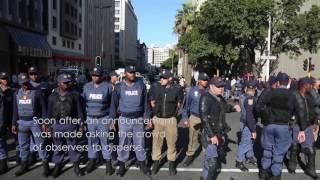 Video Metered Taxi Drivers Strike Against Uber in Cape Town CBD MP3, 3GP, MP4, WEBM, AVI, FLV Oktober 2017