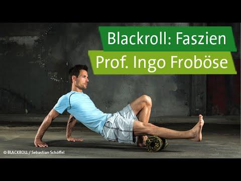 Blackroll-Übungen mit Prof. Ingo Froböse und Vanessa Blumenthal – Faszien