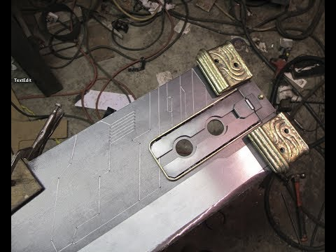 How a Buster Sword is built.