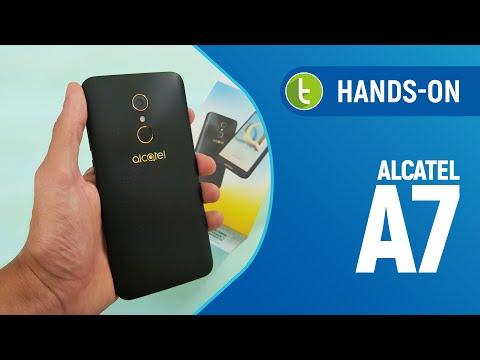 Unboxing e primeiras impressões do Alcatel A7  TudoCelular.com