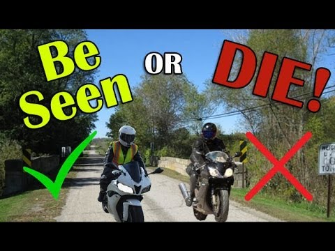 HI VIZ Motorcycle Gear - BE SEEN or DIE