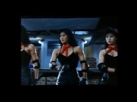 Chinese Female Bodybuilder villains in action comedy movie (1989)