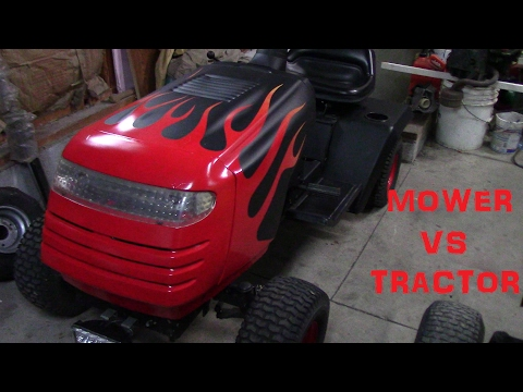 Mower vs Tractor - A Muscle Vs Tuner Parody