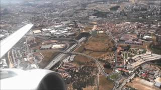 Aer Lingus Takeoff from Lisbon, Portugal airport - Airbus A320 bound to Dublin, Ireland.